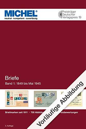 Briefe Deutschland 2020/2021: Band 1: Bis 1945: Band 1:1849 bis 1945