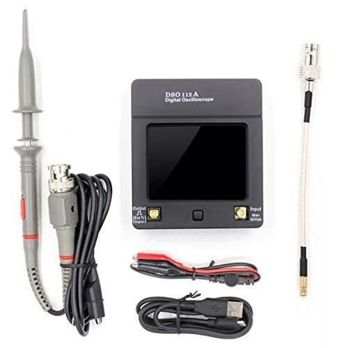 Greatangle Oszilloskop Tasche USB Digitalspeicher-Oszilloskop-TFT-Bildschirm mit hohen Genauigkeit Low Noises Oszilloskop mit Schellen
