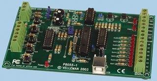 VELLEMAN - K8055N USB-Experimentier-Interfaceplatine 840484