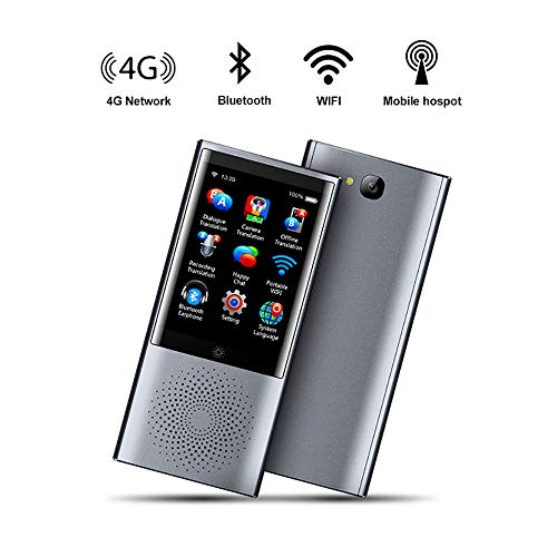Electz AI Voice Foto Sofortübersetzer 4G WiFi 8 GB Speicher 2,8