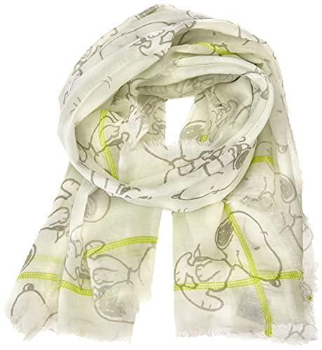 CODELLO Damen Halstuch Mode-Schal, Off-white, Einheitsgröße