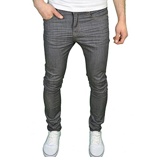 Arrested Development Heren Skinny Fit Stretch Denim Jeans Blauw