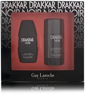 Drakkar Noir by Guy Laroche for Men Gift Set, 2 Piece