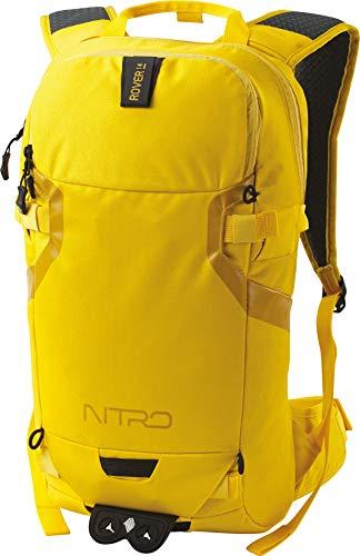 Nitro Snowboards Rucksack, Tourenrucksack, Riderbackpack, Backpack, Cyber Yellow, 14L