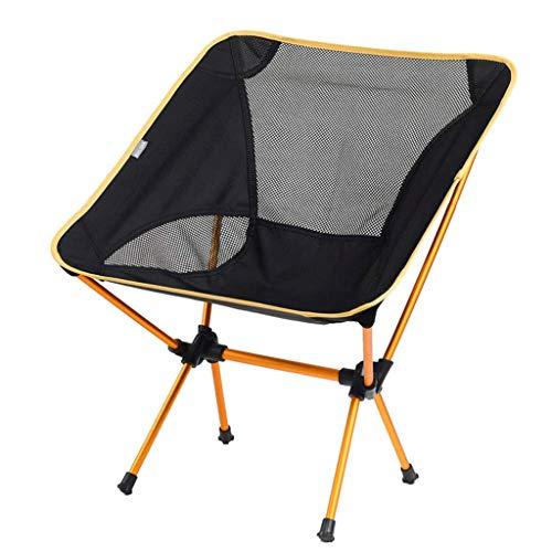 MMAXZ Mejore los pies antideslizantes Sillas para acampar: sillas plegables y ligeras para mochilas para acampar con capacidad de 260 lb, para campamento al aire libre, viajes, playa, picnic, festival