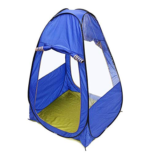 Pop Up Tents For Kids Beach Tent Camping Tent Blue Changing Fitting Room Camping Tent Outdoor Portable Privacy Toilet Tent Shower Shelter Beach Fishing Tent