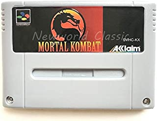 Memory Cards - Kombat Mor Series 1 2 for 16 Bit Video Game Cartridge Compilation Card for EUR/PAL Version Game Console (Mo...