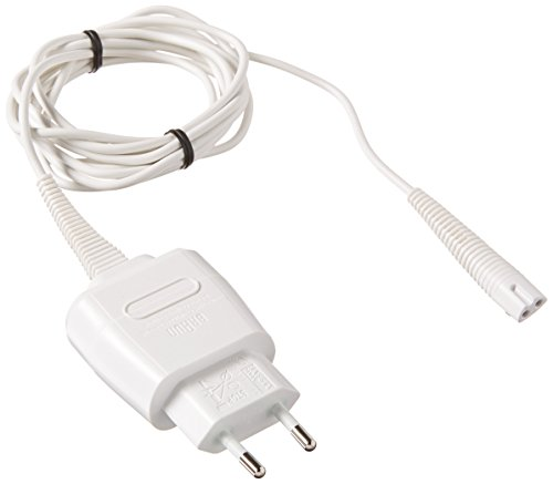 Braun 67030605 - Enchufe transformador con cable, color blanco