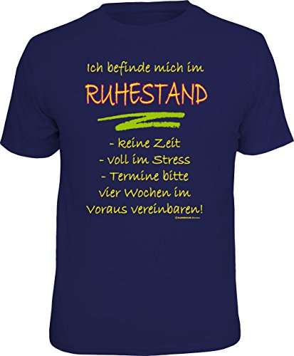 test RAHMENLOSES Original-T-Shirt für aktive Rentner: Ich bin einmal in Rente gegangen… Größe XL, Nr. 4222 Deutschland