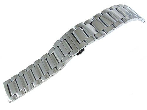 jrrs7777 sólido de 22 mm Correa de Reloj de Pulsera de Acer
