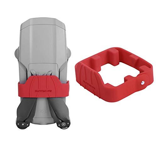 O\'woda Soporte Estabilizador de Hélices Silicona Suave Propeller Holder Fijador Puntales Titular de Protección para dji Mavic Air 2 Drones Accesorios (Rojo)