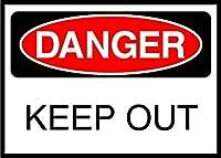 ノベルティスクエアアルミニウムメタルロードサインイン、危険サイン、ヴィンテージレトロティンサインホームパブバーデコ壁の装飾ポスターメタルサインアルミニウム面白い警告サインガレージ装飾サイン