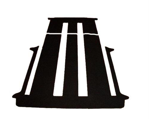 autix 381382 Komplett Teppich Fußmatte hinten für 2 Schiebetüren mit Schiebetisch
