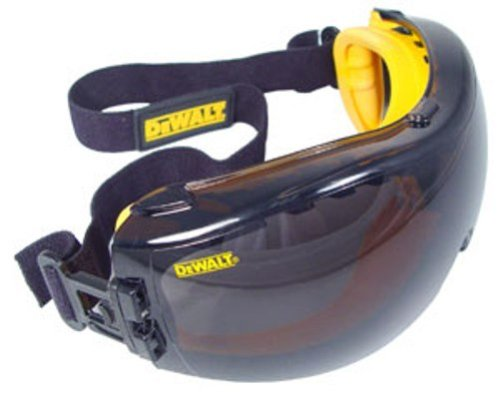 Dewalt DPG82-21 Concealer Smoke Anti-Fog Dual Mold Safety Goggle by DEWALT