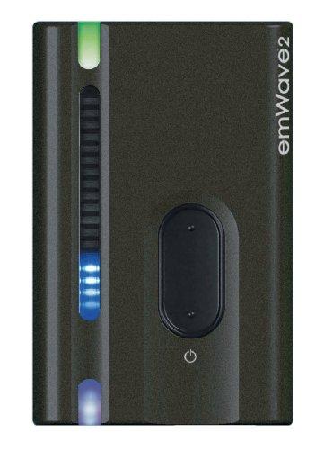 emWave 2 Das portable Biofeedbackgerät zur Herzratenvariabilität (Farbe holzkohle)