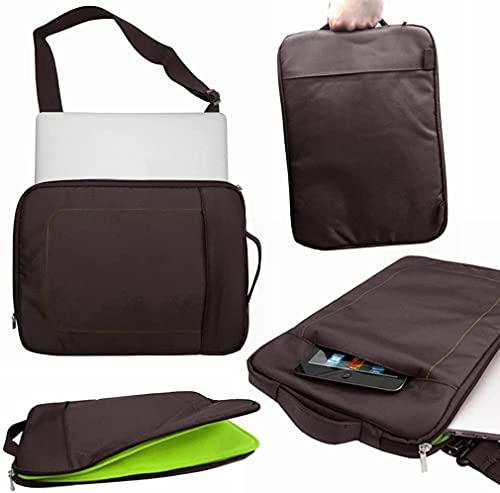 Funda impermeable para portátil Lenovo Yoga Slim 7 (14'), color marrón y verde