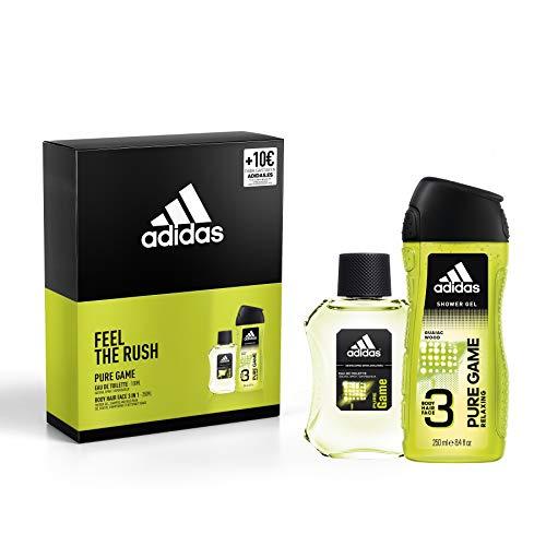 Adidas Ice Dive Set Masculino contiene: Ice Dive Eau de Toilette 100ml, Ice Dive Shower Gel 250ml y regalo