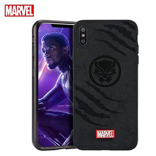 TinPlanet Marvel Avengers Endgame iPhone Xs Max Case, Black Panther (Black)