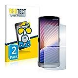 BROTECT 2X Entspiegelungs-Schutzfolie kompatibel mit Motorola Razr 5G 2020 Bildschirmschutz-Folie Matt, Anti-Reflex, Anti-Fingerprint