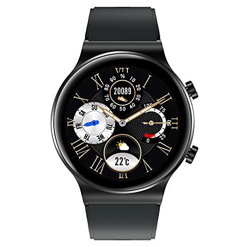 AiMoonsa Smartwatch, Batteria 250mAH Fino a 1 Settimane, SpO2, Sensore di...