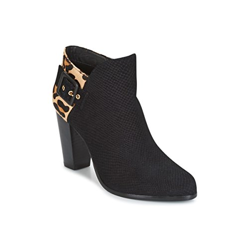 DUNE LONDON OAKLEE Enkellaarzen/Low boots dames Zwart Enkellaarzen