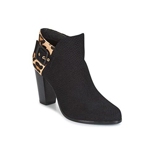 Dune London Oaklee Stiefelletten/Boots Femmes Schwarz - 42 EU - Low Boots