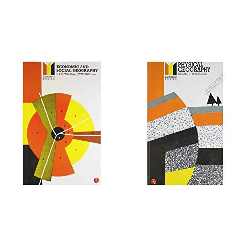 Economic and Social Geography Made Simple + Physical Geography (Set of 2 Books)