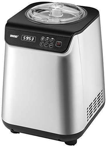 Unold UNO 48825 IJsmachine met compressor, 1,2 liter volume, met timer, 1,2 liter