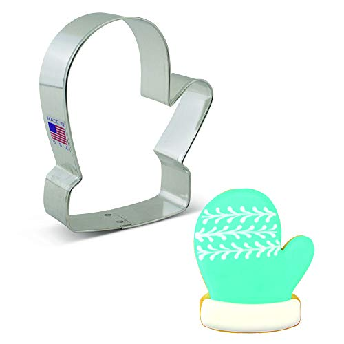 Ann Clark Cookie Cutters Winter Mitten Cookie Cutter, 4'