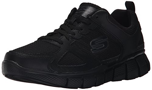 Skechers Sport Men's Equalizer 2.0 True Balance Sneaker,All Black,12 4E US