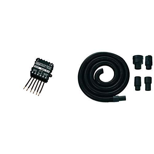 Interrupteur maître-esclave - Kemo - 230 V/CA (400 V/CA) - M103N & Einhell Accessoire Tuyau d'aspiration 36 mm 3 mÚtres avec 4 adaptateurs