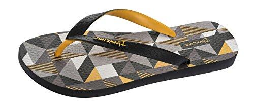 Ipanema Cubes Herren Flip Flops/Sandals-Black-45/46