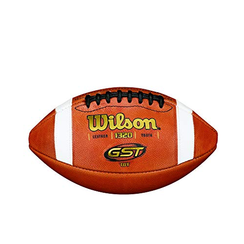 Wilson TDY GST Leather Football  Youth