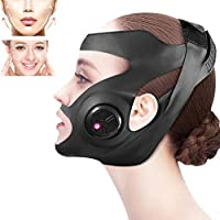 電気V字型薄顔スリミングチークマスクマッサージャーフェイシャルリフティングマシンVラインリフトアップ包帯治療装置