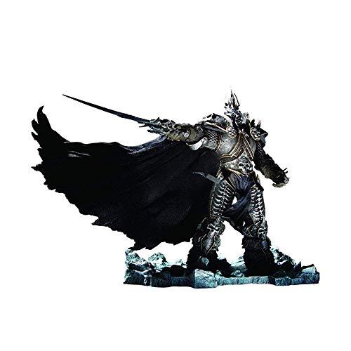 ZYDPDJZM-HPJ Muñeca Figura de Lujo ilimitada de World of Warcraft: El Rey Exánime: Figura de PVC de Arthas Menethil GFA8
