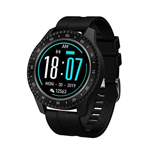 HQHOME Fitness Armband, Smartwatch Wasserdicht IP68 Fitness Armband mit Pulsmesser 1,54 Zoll Farbbildschirm Aktivitätstracker Pulsuhren Schrittzähler Uhr Smart Watch Fitness Uhr für Damen Herren