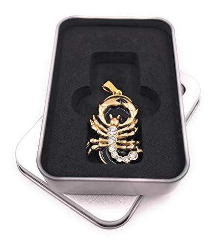 Onwomania sterrenbeeld schorpioen Astro USB-stick in aluminium geschenkdoos 8 GB USB 2.0