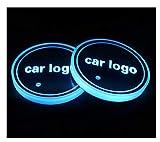 Portavasos para Coche 2 unids LED Cup Holder Holder Coaster...