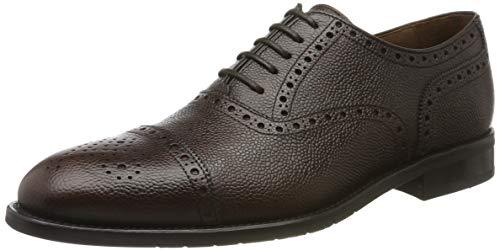 Lottusse L6966, Zapatos de Cordones Derby Hombre, Marrón (Cortina Moka Cortina Moka),...