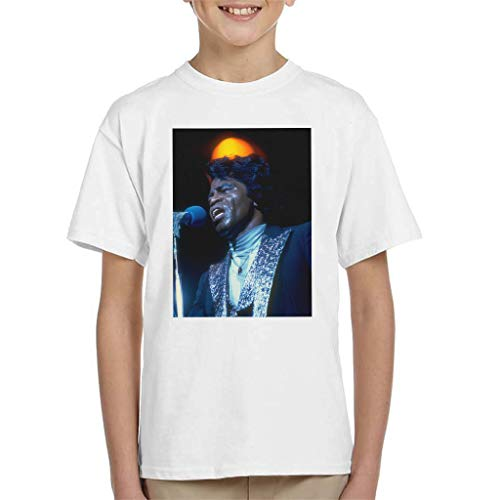 TV Times Soul Singer James Brown 1979 Kid's T-shirt
