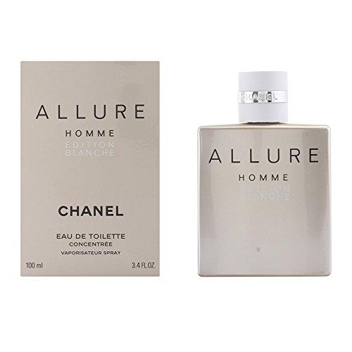 Chanel Allure Blanche homme/man, Eau de Toilette Concentrée Vaporisateur, 1er Pack (1 x 100 ml)