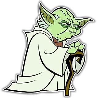 Star Wars Yoda car Vynil Car Sticker Decal - Select Size