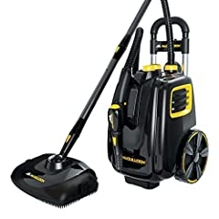 On-demand variable steam control with 4 bar (58 psi) pressure to blast away dirt and grime Naturally deep cleans and sanitizes without the use of harsh chemicals ; PowerCord Plug Type :3-Pin Grounded Large 64 oz. water tank heats up in 12 minutes and...