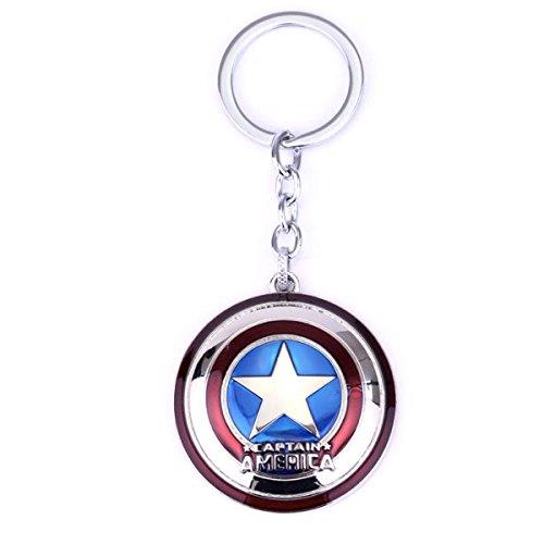 Capitan America Dije Llavero Escudo Avengers Infinity War Steve Rogers