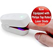 Med-Fit Rechargeable Nail Fungus Laser (2019 Models Now Using Top Rated Philips Laser Diodes) - Dual Action Treatment Supplied with Proven Nail Fungal Cream-Highly Effective Nail-Fungus Treatment