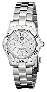 TAG Heuer Women's WAF1412.BA0823 'Aquaracer' Stainless Steel Dive Watch