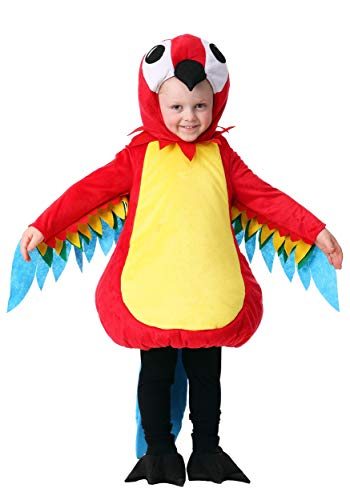 Toddler Squawking Parrot Costume - 2T