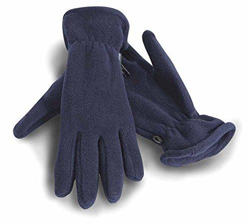 Result - gants polaires ACTIVE FLEECE GLOVES R144 - mixte homme/femme - coloris BLEU MARINE - taille L