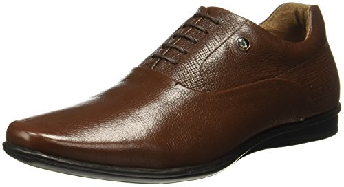 Hush Puppies Men's Corso Oxford Brown Leather Formal Shoes