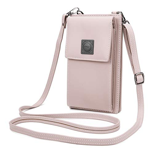 OB OURBAG Stylish Women Leather Wallet Cute Small Coin Purse Mini Shoulder Bag Travel Clutch Bag Phone Bag